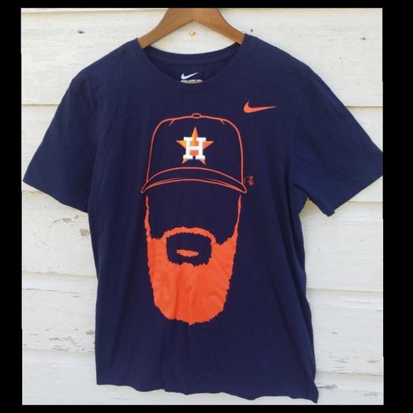 buy online 0e083 fc616 Nike Houston Astros Dallas Keuchel MLB T-shirt